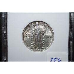 1924 US Standing Liberty Quarter; MCPCG Graded EF40; EST. $50-110
