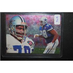 1995 NFL Leon Lett Dallas Cowboys Football Trading Card; EST. $5-10