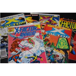 Marvel Comics; Various Dates, Heroes & Villains; Lot of 6; EST. $30-60