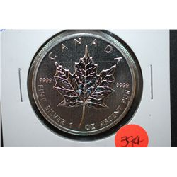 "2011 Canada $5 ""Maple Leaf"" Silver Foreign Coin; 9999 Fine Silver 1 Oz.; EST. $45-65"