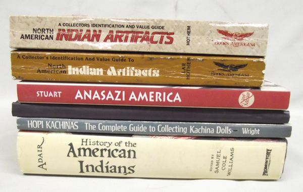 Native American Reference Books 6