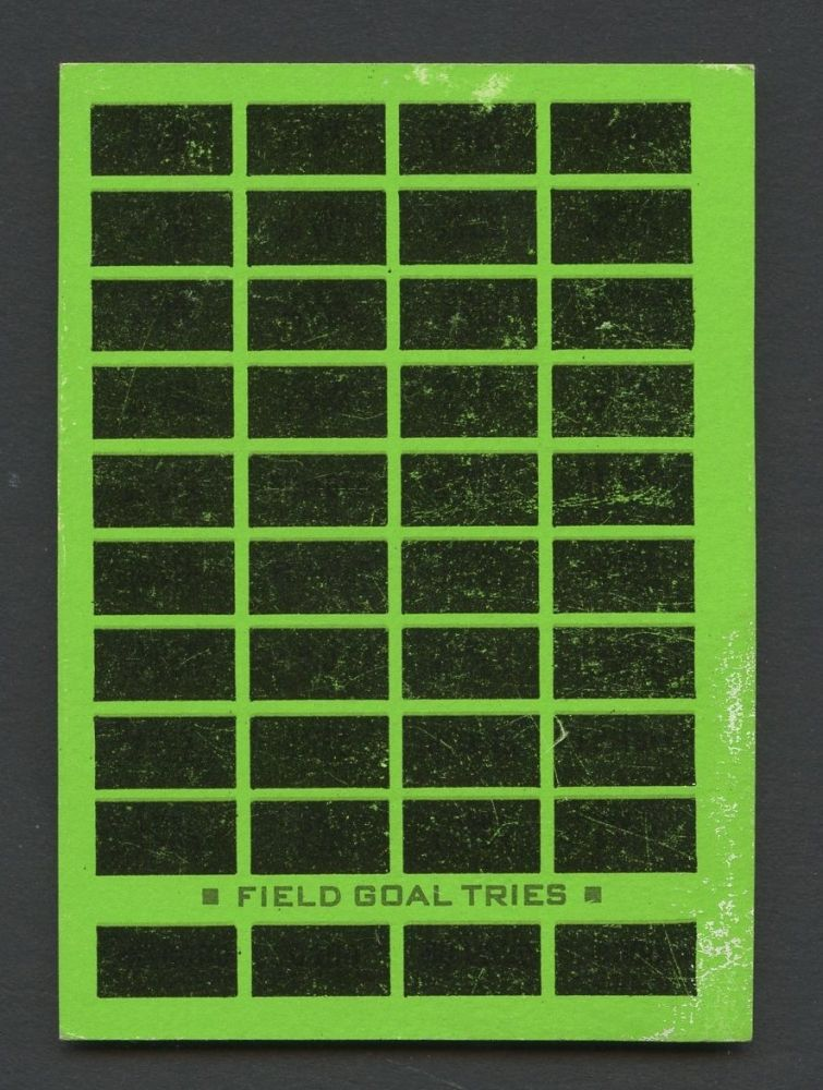 Rare 1974 topps football parker bros pro draft game rules - Armario para llaves ...