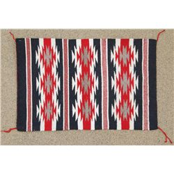 Navajo Red & Black Crystal Rug - Alyssa Harrison