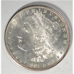 1881-S MORGAN DOLLAR MS 65 PL NICE!
