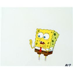 Spongebob Original Art Get Away From Me Animation Cel