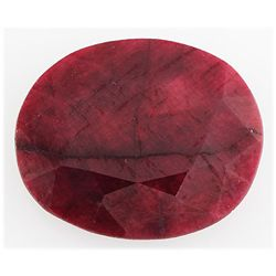 Ruby109.44ctw Loose Gemstone35x29mmOvalCut