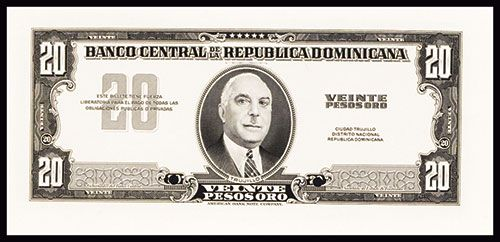 Image 1 Banco Central De La Republica Dominicana Nd Ca 1956