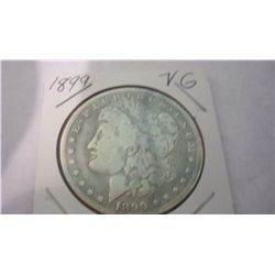 1899 MORGAN SILVER DOLLLAR