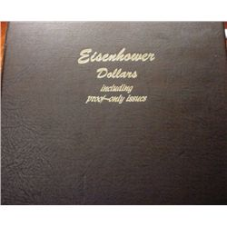 COMPLETE EISENHOWER SET 32 DOLLARS 1971-78 INCLUDING PROOFS AND S's