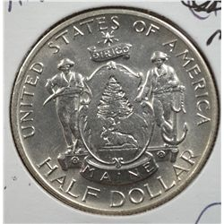 1920 MAINE HALF DOLLAR MS65 SUPER!