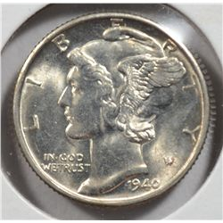 1940-D MERCURY DIME MS66 FULL BANDS