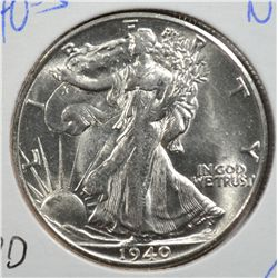 1940-S WALKING LIBERTY HALF DOLLAR MS64+
