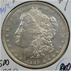 1889 MORGAN DOLLAR MS63 DMPL NICE!