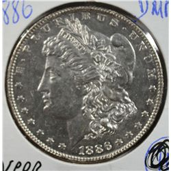 1886 MORGAN DOLLAR MS64 DMPL NICE!