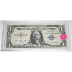 1957 A SERIES $1 SILVER CERTIFICATE SERIAL # E36668670A *EXTREMELY RARE UNC HIGH GRADE*!!