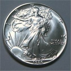 1986 SILVER EAGLE 1oz .999 SILVER *RARE 1ST YEAR PROOF HIGH GRADE*!!