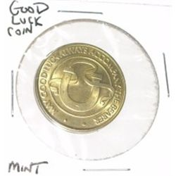 GOOD LUCK COIN *MINT CONDITION*!!