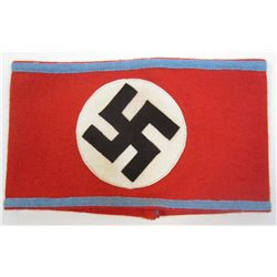 GERMAN NAZI SA/NSDAP HIGHT LEADER ARM BAND