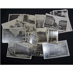 LOT OF APPROX. 30 C. 1946 GERMAN PHOTOS & POSTCARDS