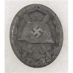 GERMAN NAZI SILVER WOULD BADGE