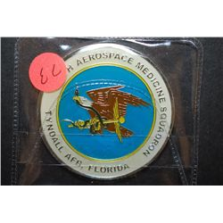 Tyndall AFB Florida 325th Aerospace Medicine Squadron Military Challenge Coin; EST. $5-10