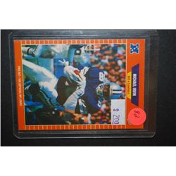 1989 NFL Michael Irvin Dallas Cowboys Football Trading Card; EST. $5-10