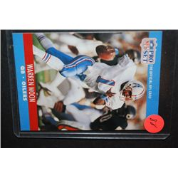 1990 NFL Warren Moon Houston Oilers Football Trading Card; EST. $5-10