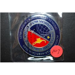 United States Air Force Professional Military Education Military Challenge Coin; EST. $5-10