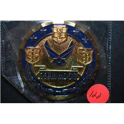 759th MDOS 759th Medical Operations Squadron Military Challenge Coin; 59th MDW Total Success; EST. $
