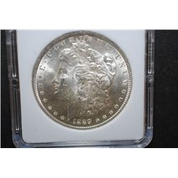 1889 US Silver Morgan $1; MCPCG Graded MS62; EST. $50-70