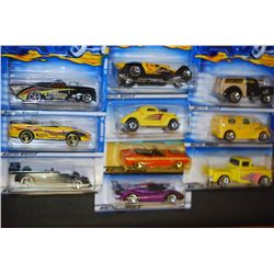 Mattel Hot Wheels Inc.; Various Dates, Makes & Models; Lot of 10; EST. $20-60