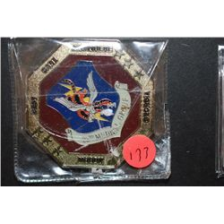 Moody AFB Georgia 23rd Medical Group Military Challenge Coin; Best Care Anywhere; EST. $5-10