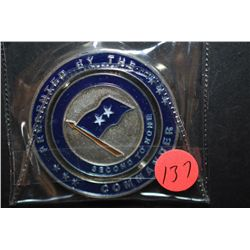 Second Air Force Tech Training ILO Training Basic Military Training Military Challenge Coin Presente