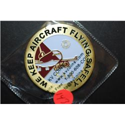 San Antonio Aerospace Employee Of The Month Coin; ST Aerospace; We Keep Aircraft Flying Safely; EST.