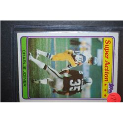 1981 NFL Charlie Joiner San Diego Chargers Football Trading Card; EST. $5-10