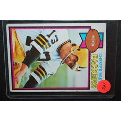 1979 NFL Chester Marcol Green Bay Packers Football Trading Card; EST. $5-10