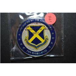 Team Lackland 37th Mission Support Group Military Challenge Coin Presented By The Commander For Exce
