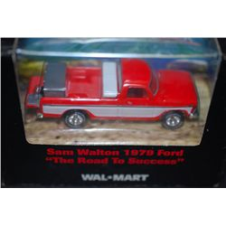 "1999 Mattel Hot Wheels Inc. WalMart Sam Walton 1979 Ford Collectible Truck ""The Road To Success""; ES"