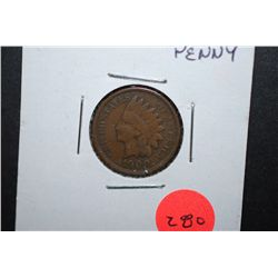 1900 US Indian Head Penny; EST. $2-5