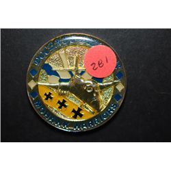 28th Bomb Squadron Mohawk Warriors Military Challenge Coin Commander's Excellence; Docendo Discimus;