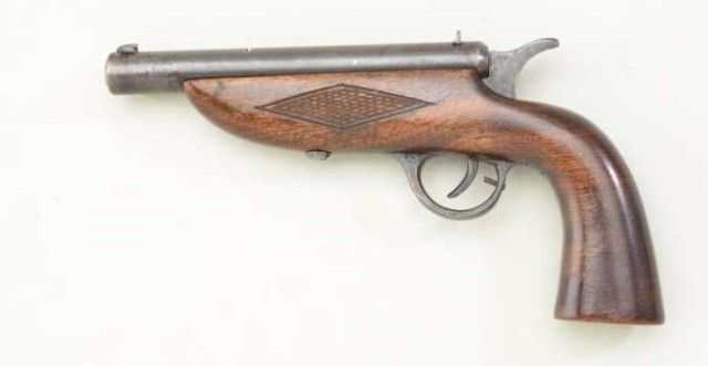 Extremely rare American breech loading 22 caliber target pistol ...