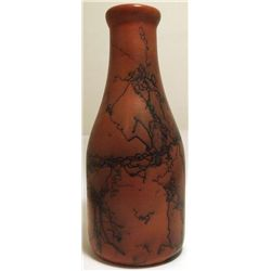 Navajo Handmade Horsehair Pottery Bottle - Mike
