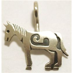 Navajo Sterling Silver Horse Pendant - Sharon Cisco