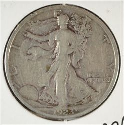 1923-S WALKING LIBERTY HALF DOLLAR VF-XF