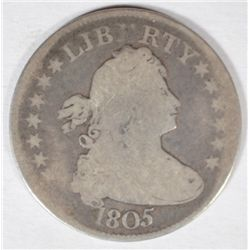 1805  BUST quarter good nice type coin