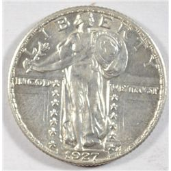 1927  Standing Liberty quarter AU55 Next  few lots are a break up