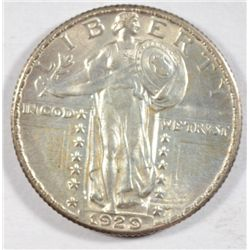 1929  Standing Liberty quarter   AU58 Next  few lots are a break up