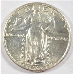 1929D  Standing Liberty quarter   AU58 Next  few lots are a break up