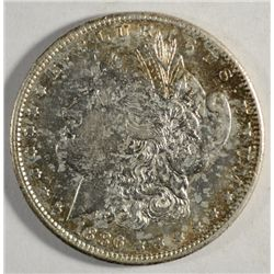 1886-S MORGAN DOLLAR AU