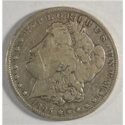 1895-S MORGAN DOLLAR FINE+